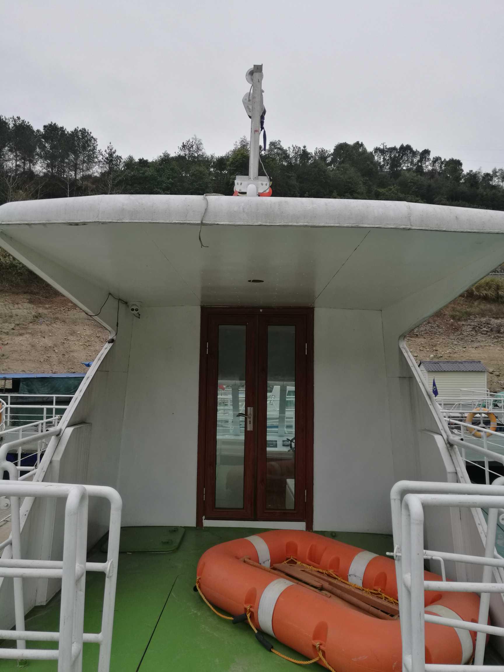 17年B级航区铝合金交通艇