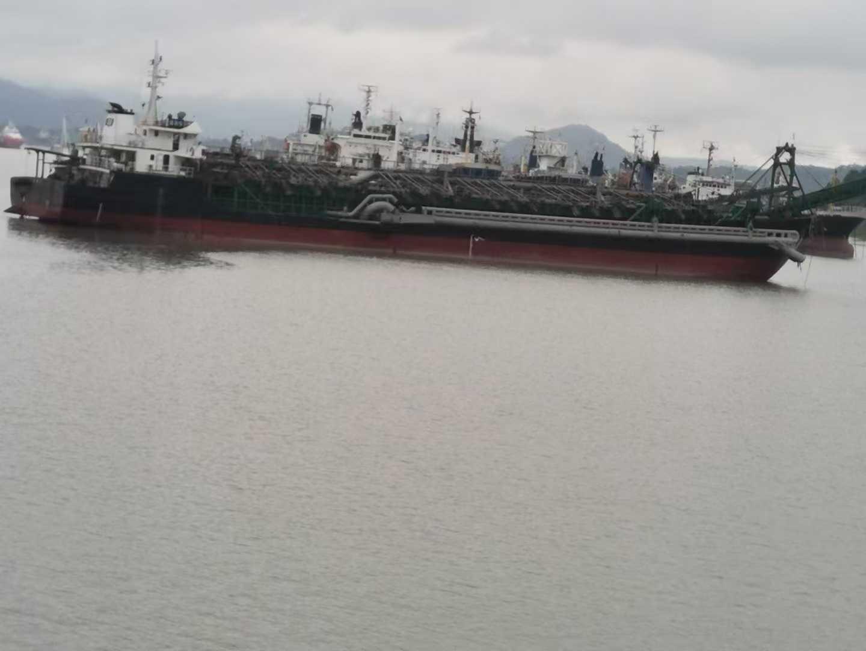 出售5300吨自吸自卸沿海沙船