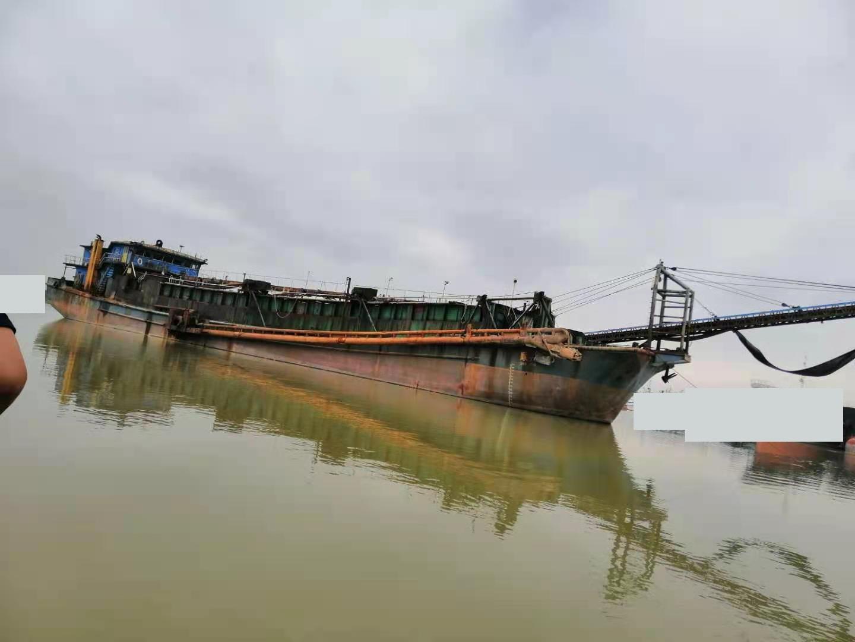 出售2600吨自吸自卸沙船-内河