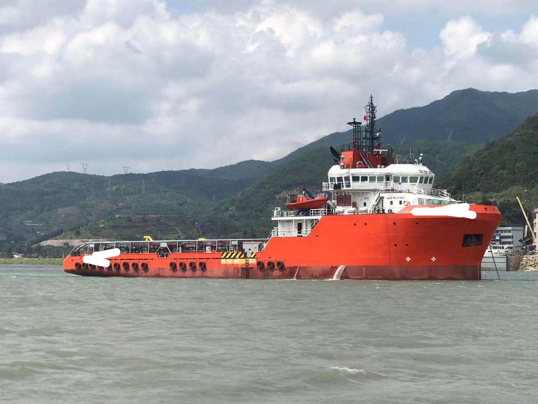 出售2008年新加坡造10880马力三用拖轮