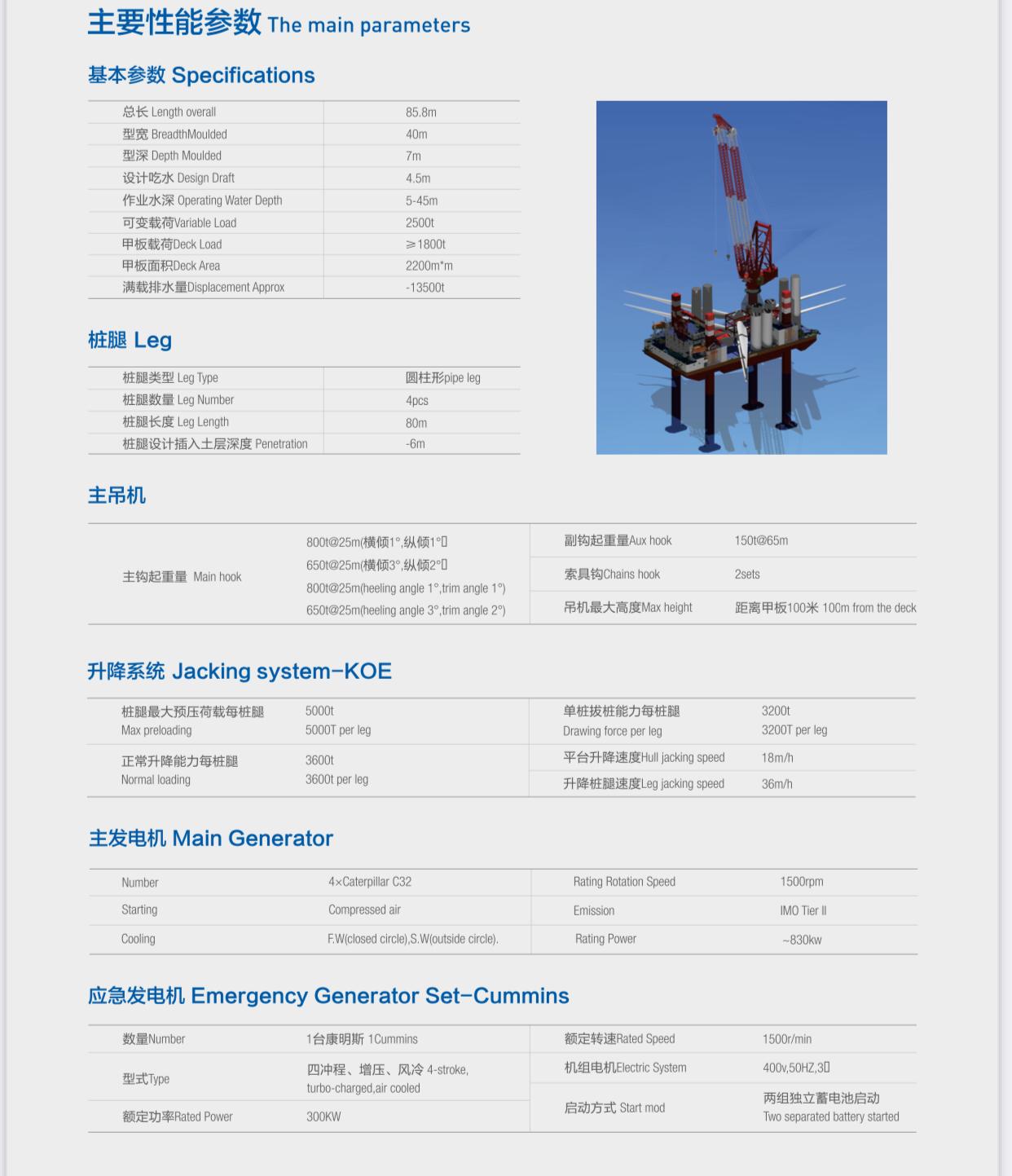 出售风电安装船