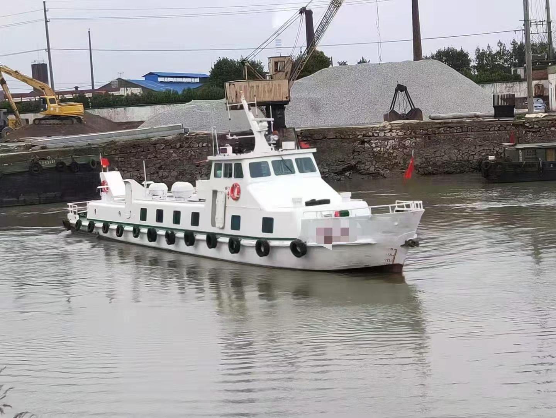 出售30米交通船