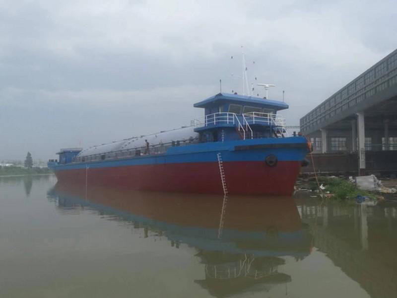 出售2021年造1700吨内河航区散装水泥罐船 可转CCS
