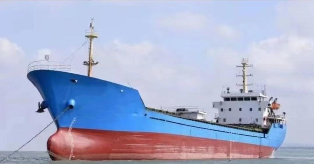 出售3400吨散货船