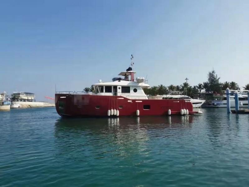 出售2015年造沿海高配太阳鸟拉斐尔71尺专业海钓艇