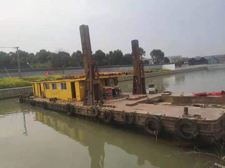 定位桩挖机船出售