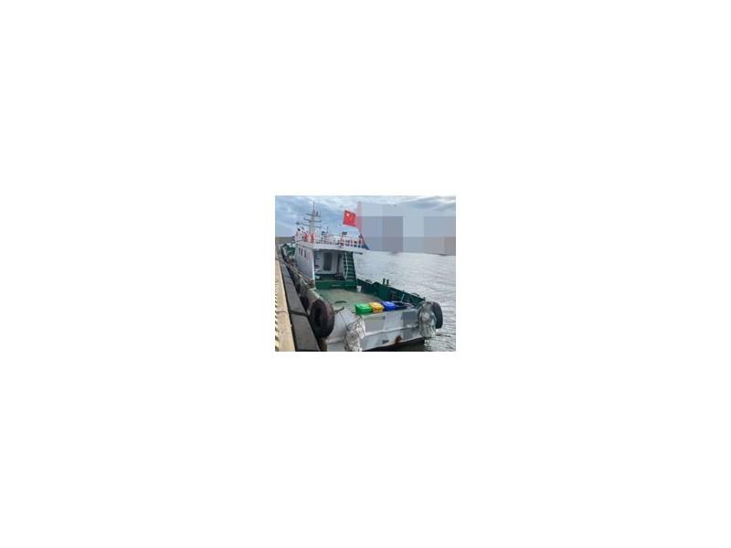 出售2017年造25米沿海钢制交通船