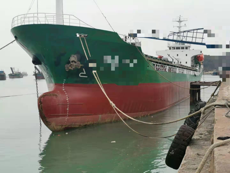 出售国内ZC检验2003年造双底双壳3200吨油船