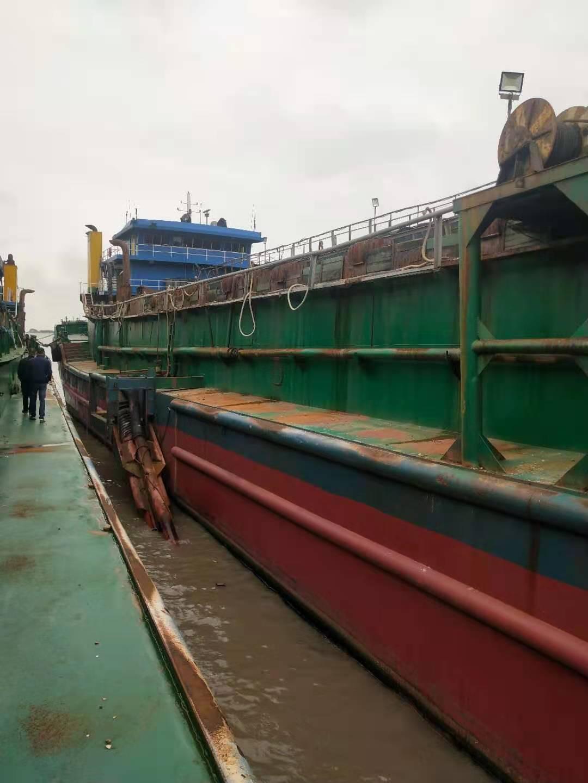 2014年11月龙海造内河4500吨自吸自卸砂船