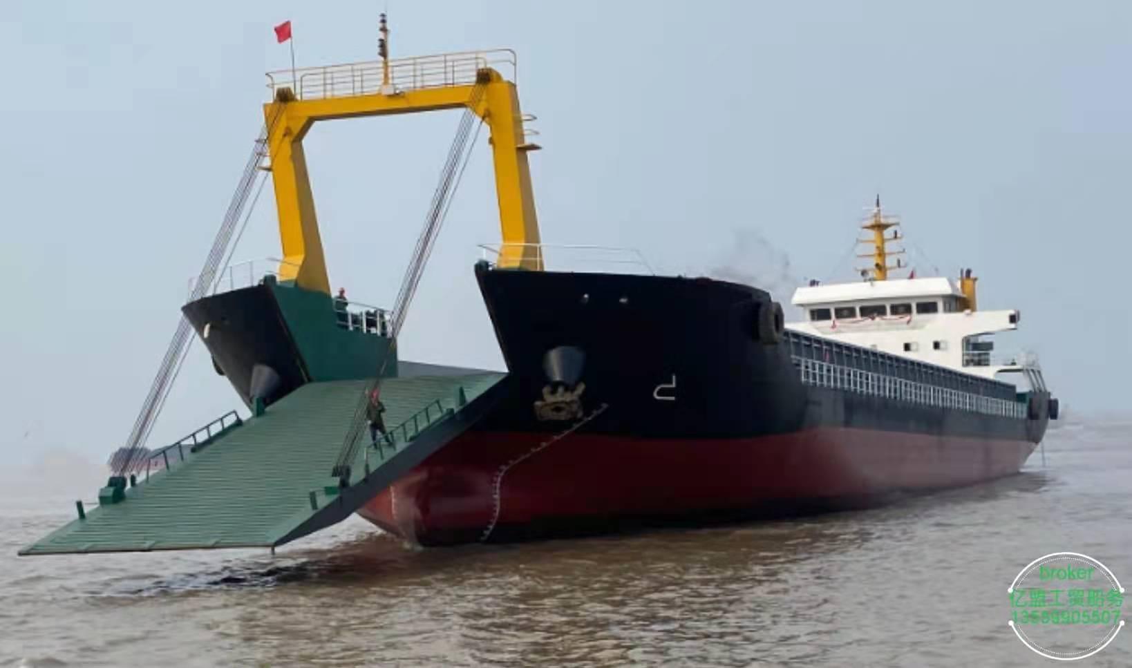甲板驳货船