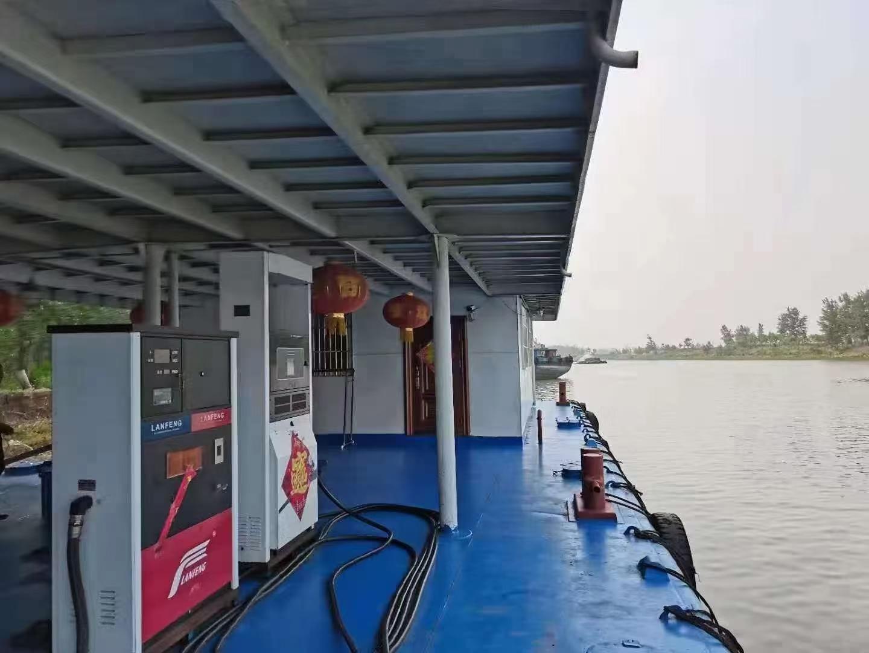 出售:2015年造内河加油囤船