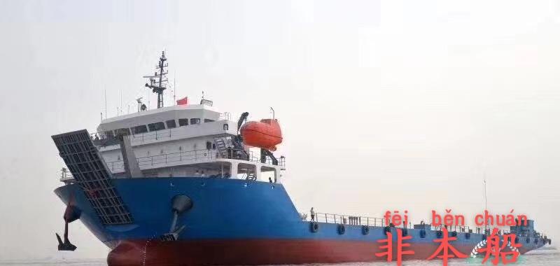 出售7200吨甲板驳-前驾驶