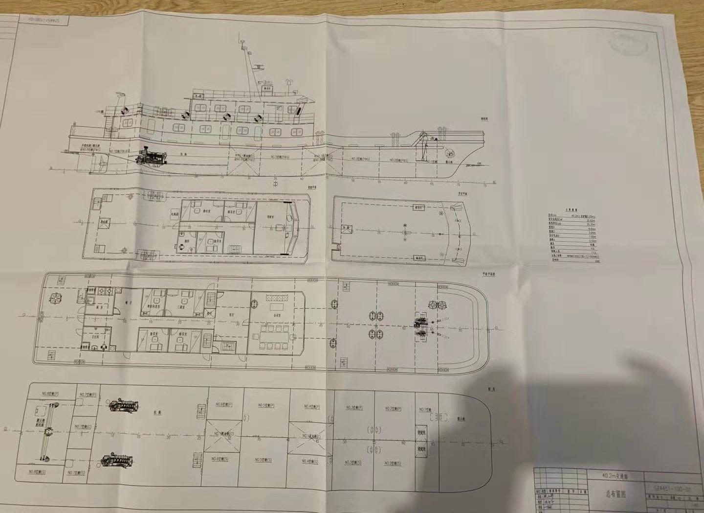 出售交通船40米长