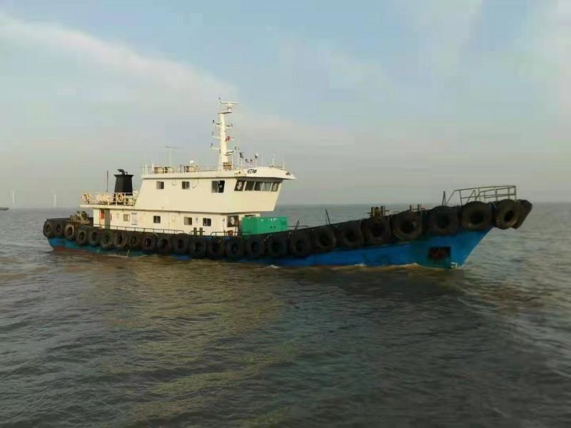 售:2017年近海36米钢制交通船