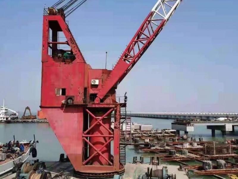 出售2007年造150吨沿海全回转起重船