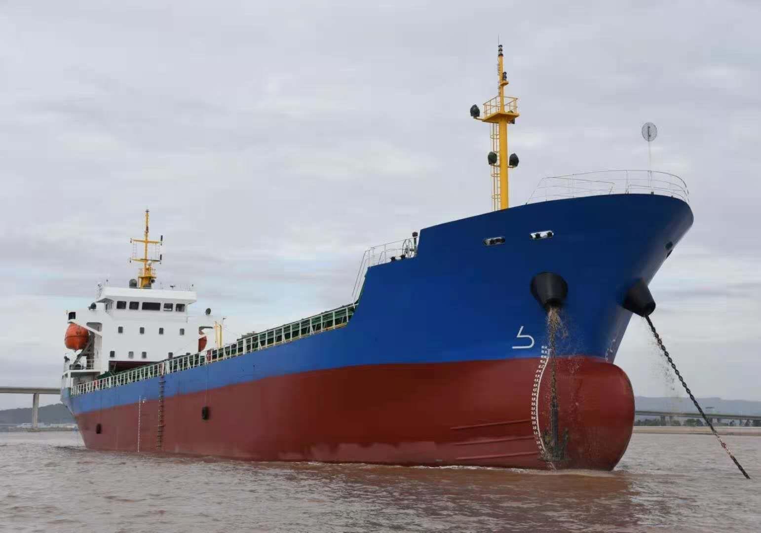 出售2020年11月浙江造5070吨散货船