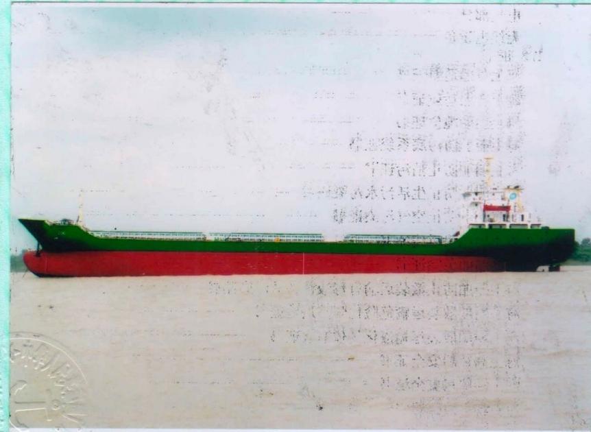 出售2008年10月江苏造12496吨散货船