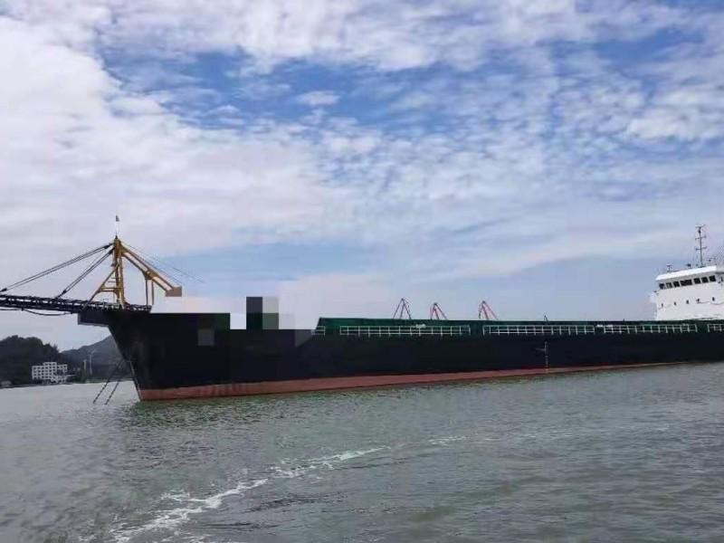 转让国内ZC检验实载4500吨自卸皮带船