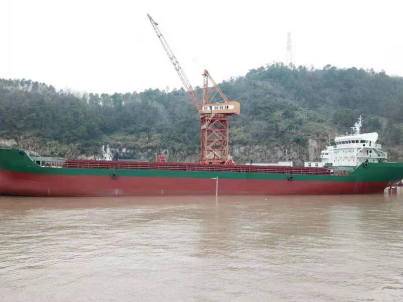 出售2017年造8700吨沿海散货船