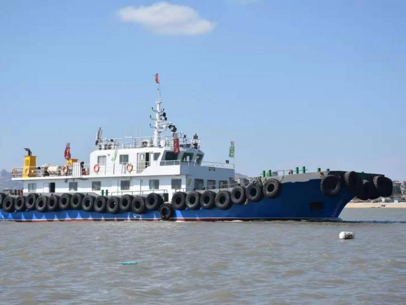 出售2018年造39米近海钢质交通船