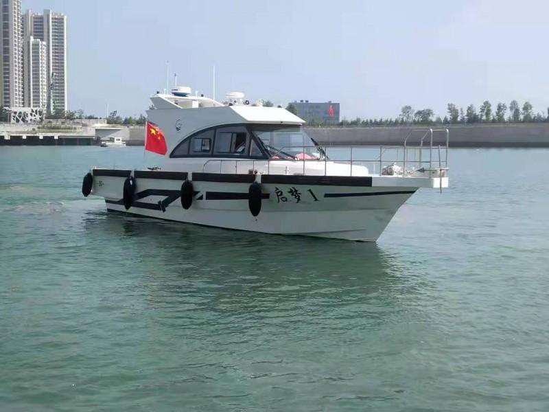 出售二手15米钓鱼艇钓鱼船游艇现船95新坐标青岛