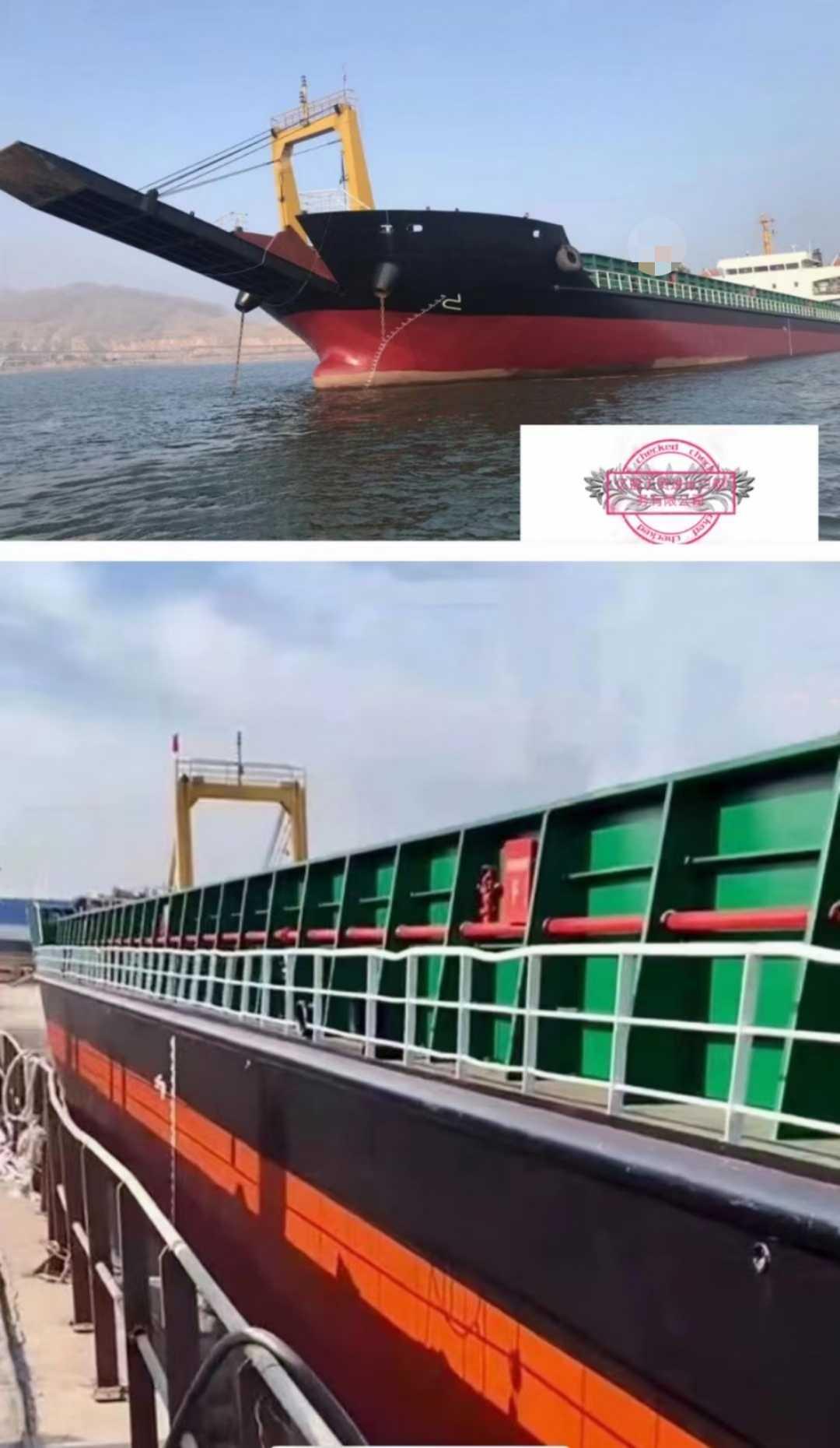 甲板驳后驾驶5100吨