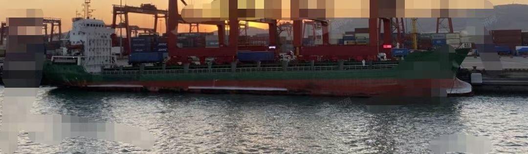出售6500吨集装箱船