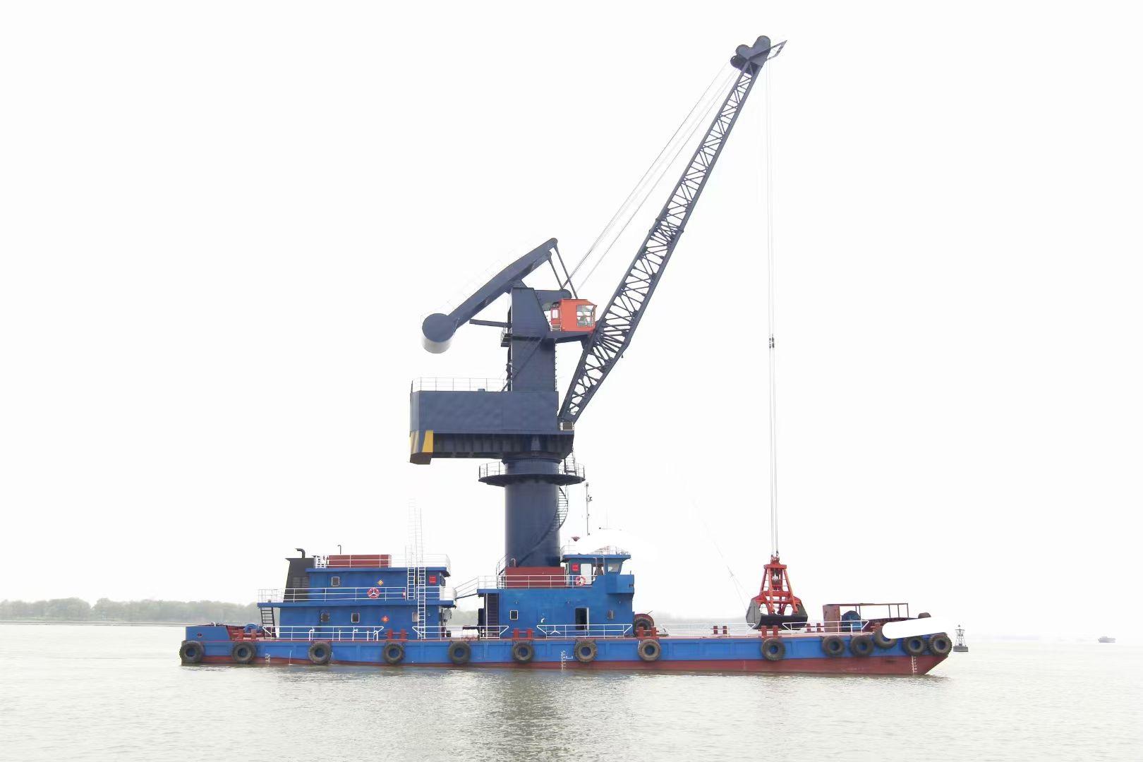 出售全新双250kw 沿海浮吊船