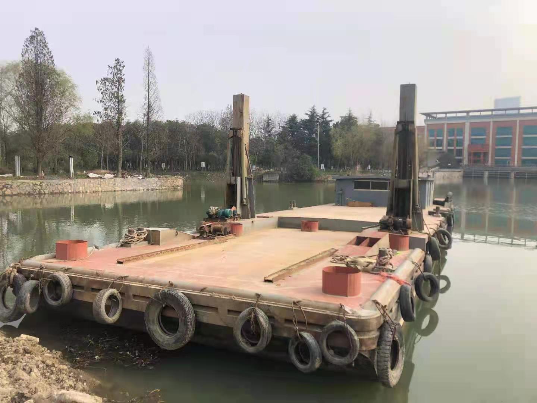 大定位桩挖机船转让