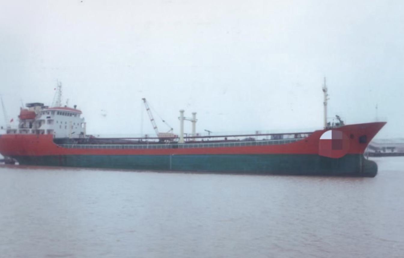 出售:6000吨双底双壳油船