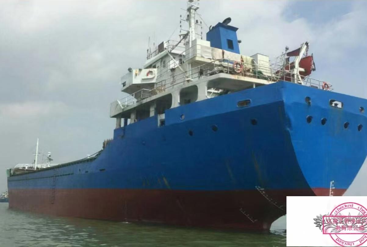 出售2005年浙江造5000吨散货船