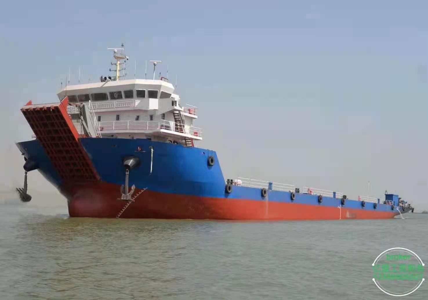 出售2019年江苏造前驾驶甲板驳5020吨