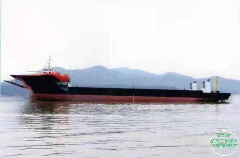 出售2020年浙江造5200吨前驾驶甲板驳