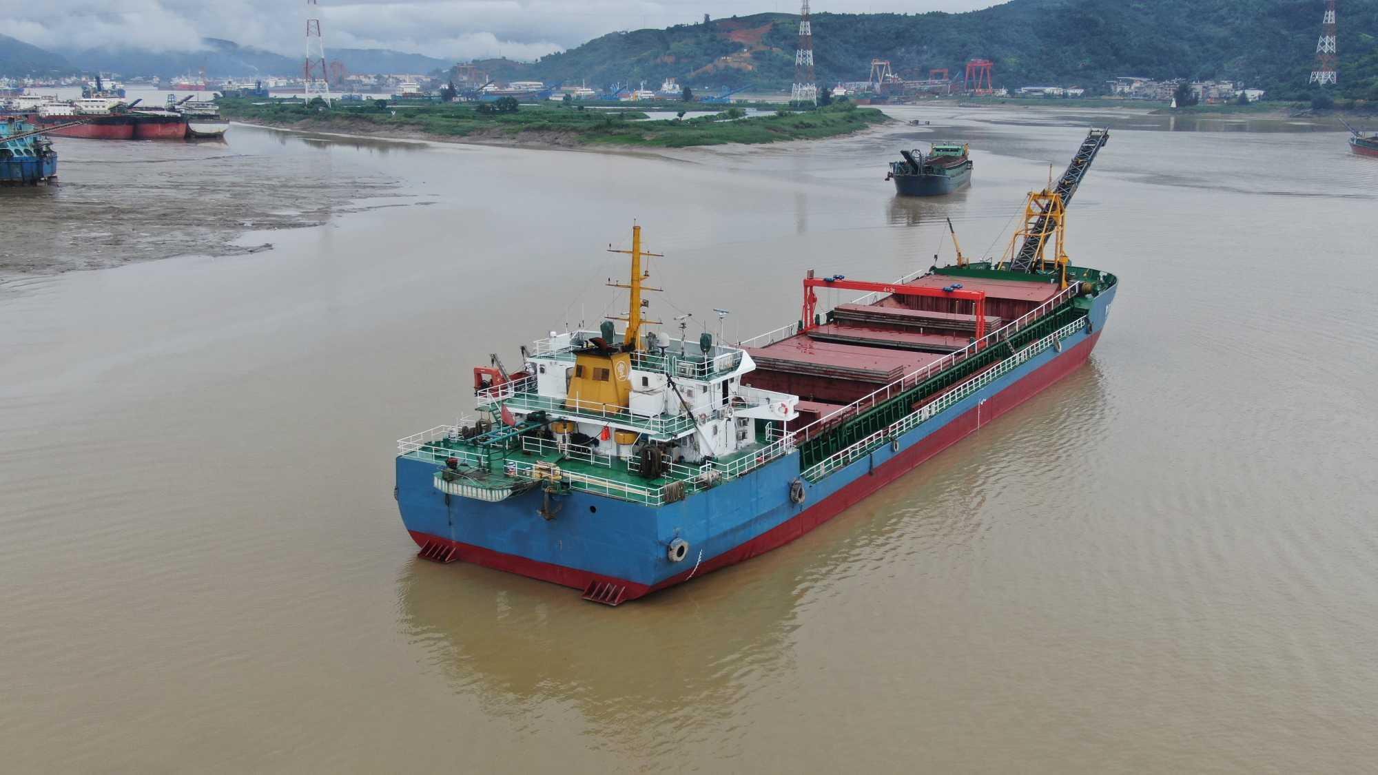 出租4000吨自卸皮带船