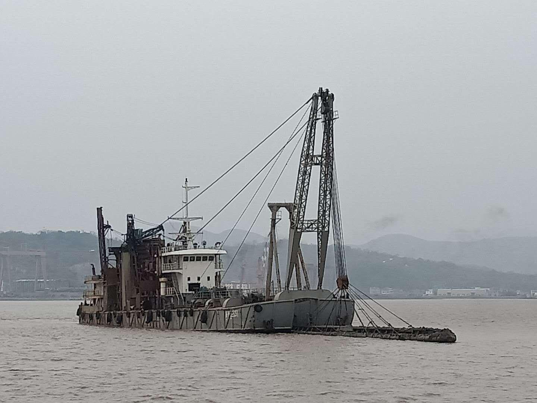 沿海射流式吸砂船