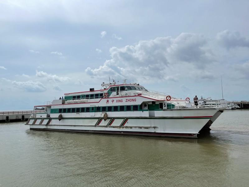 出售350客位高速客船