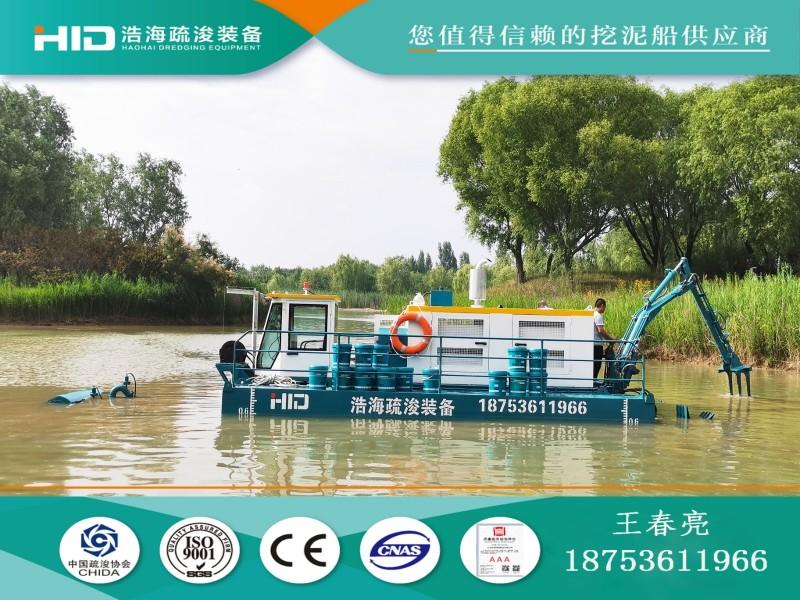 耙吸式挖泥船   可拆分式清淤船   300m³/h挖泥船