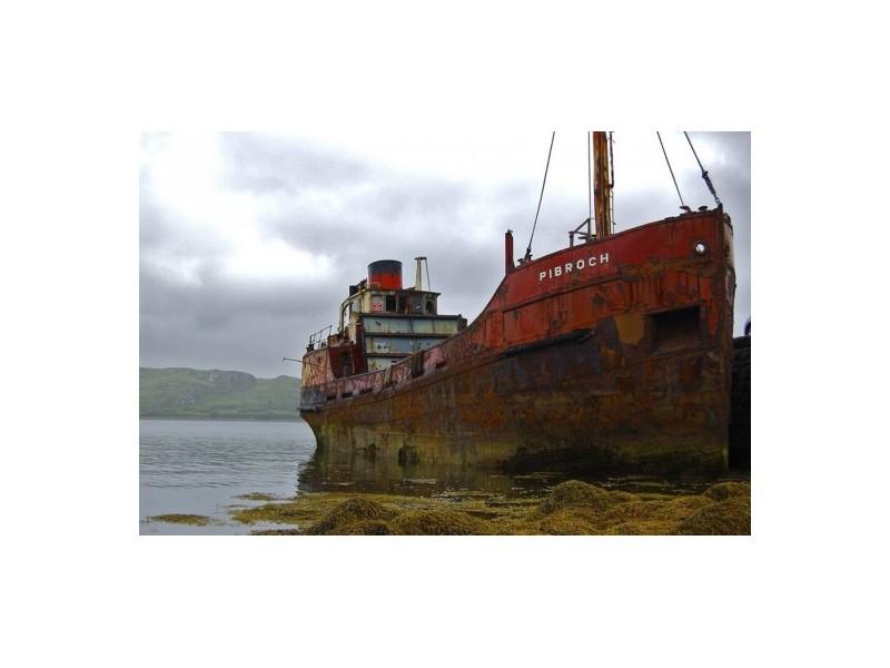 大量回收各种报废船舶