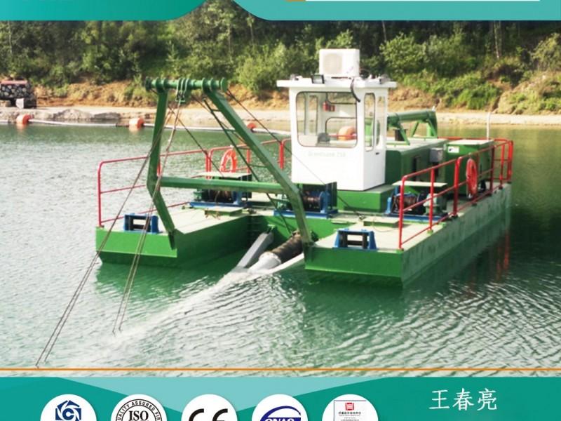 射吸式抽沙船   可拆分式挖泥船   2000m³/h挖泥船