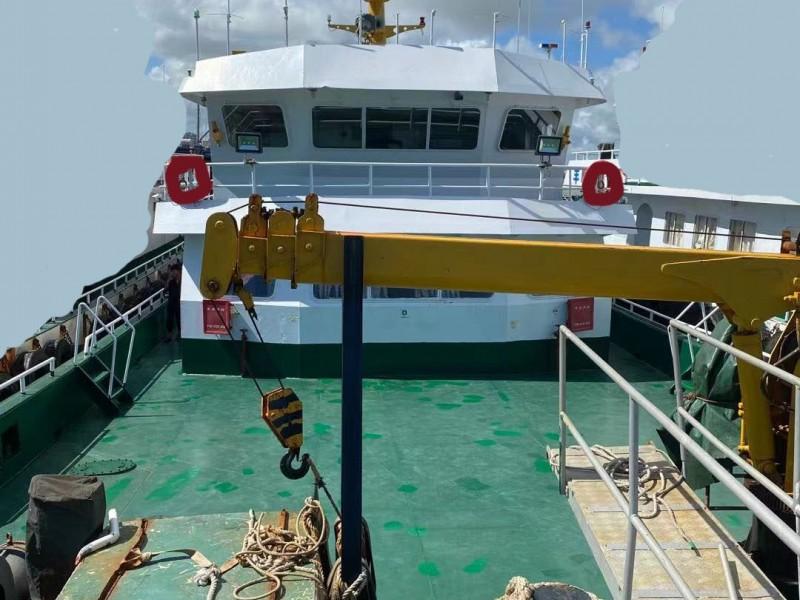 出售2016年造40.2米近海双体钢质交通船
