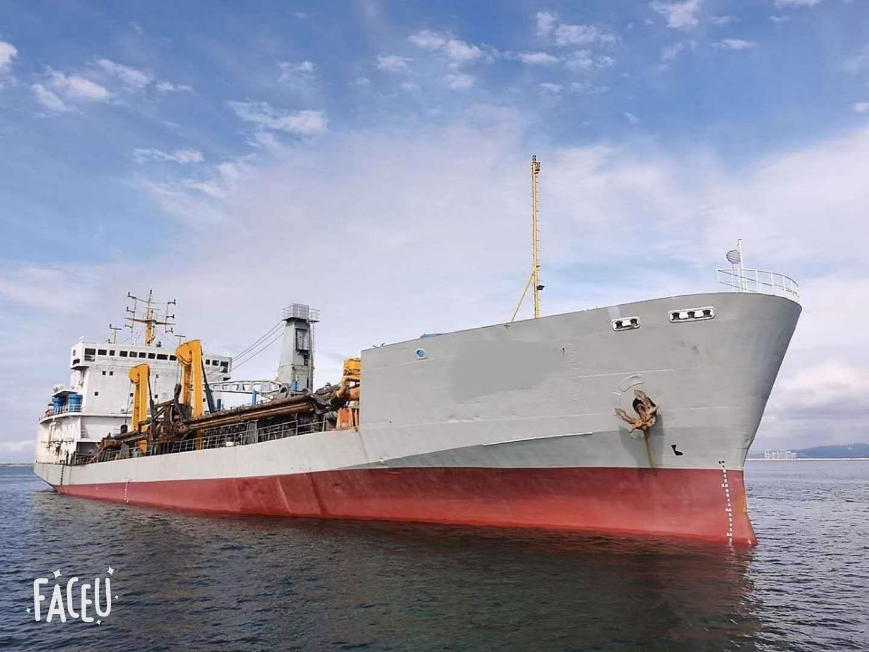 出售6000方耙吸挖泥船