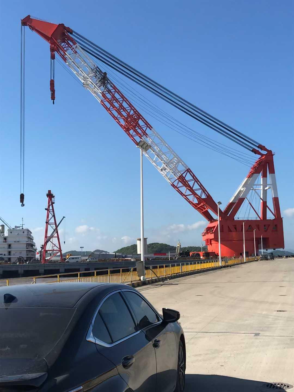 出售2400吨浮吊船2021年CCS