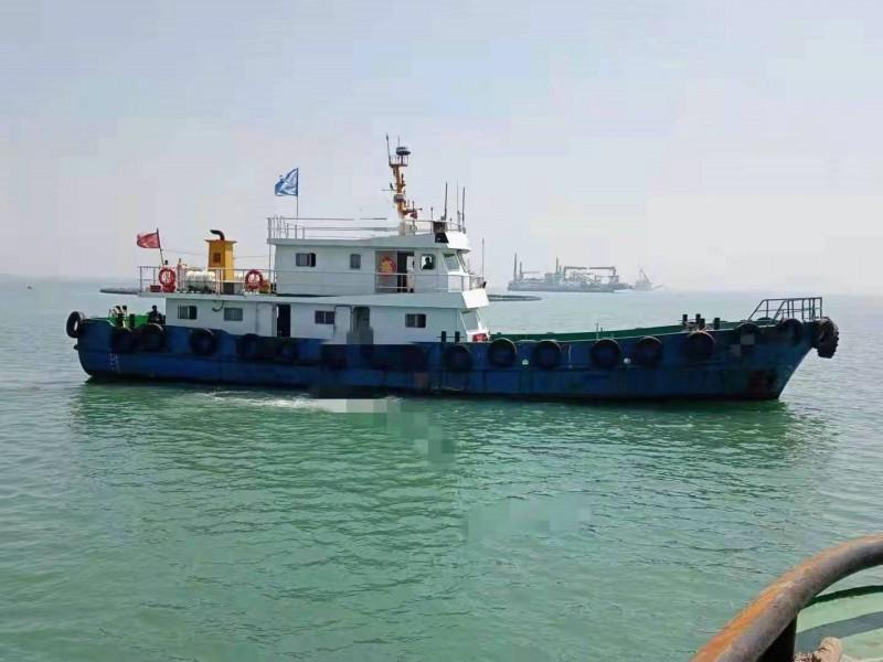 售:2018年沿海28米钢制交通船