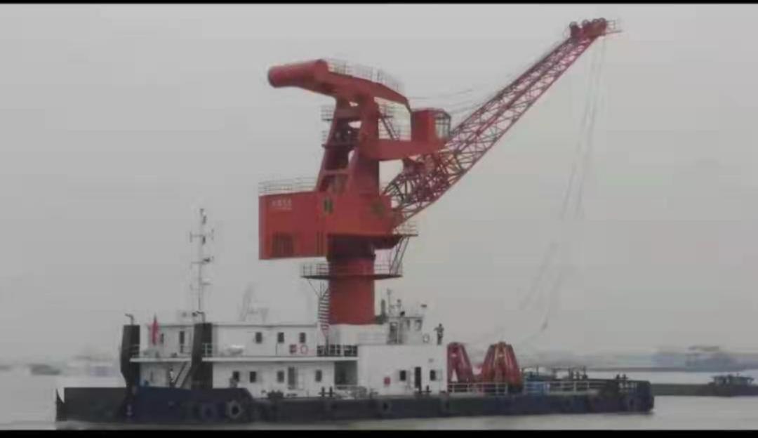 求租求购海浮吊船!50-100吨左右!