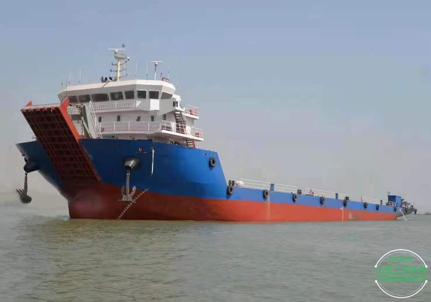出售前驾驶甲板驳5100吨