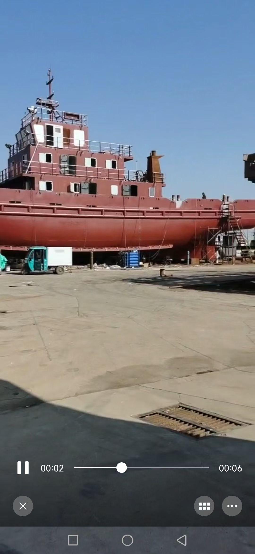售2008年底江苏造2018年底改建沿海3000马力锚拖