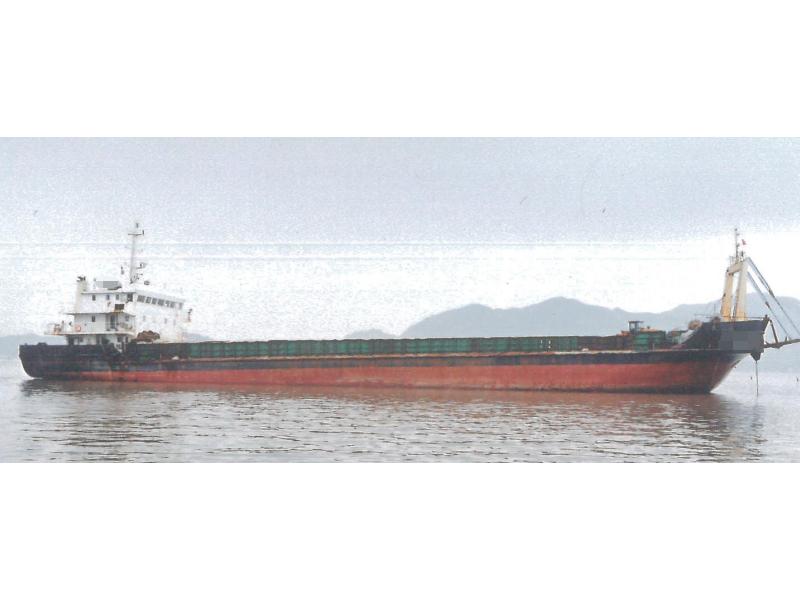出售2015年造3000吨沿海甲板货船