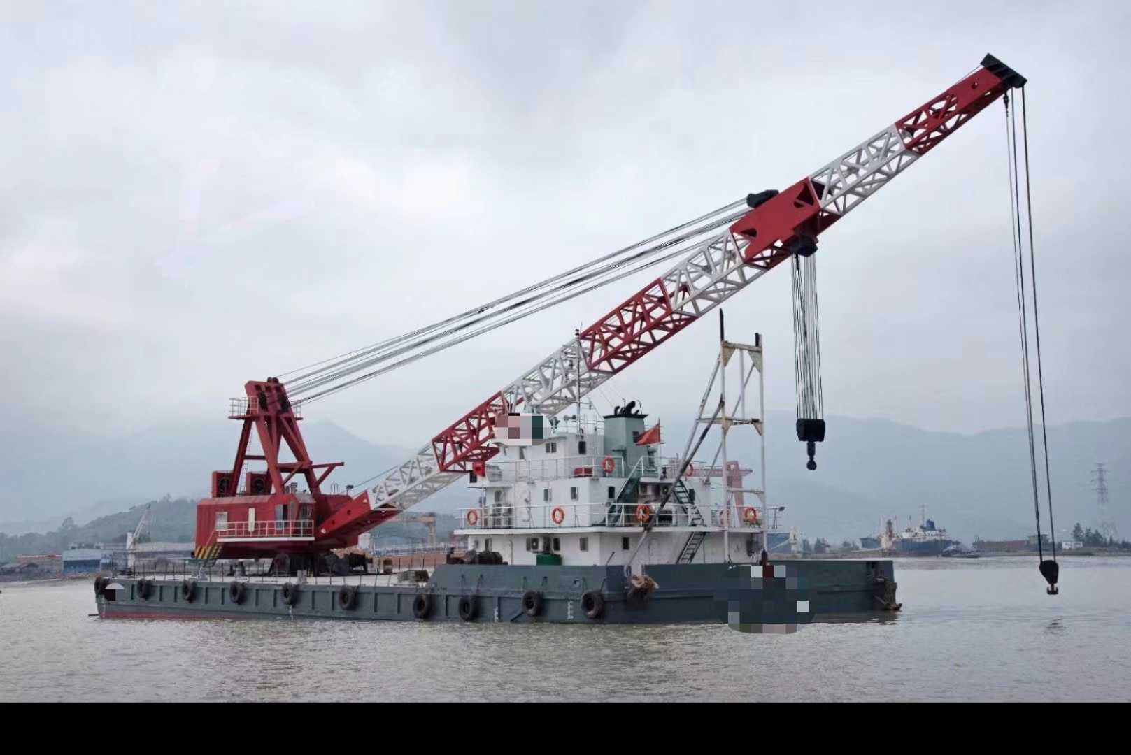 出租/出售/100-500吨全回转起重船