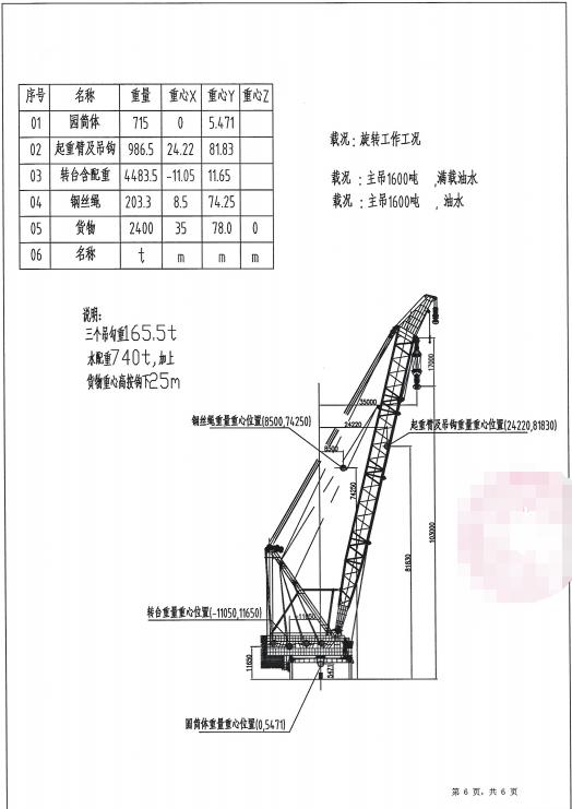 出售: 非自航全回转【起重船】起吊能力2400T,2021年江苏造,