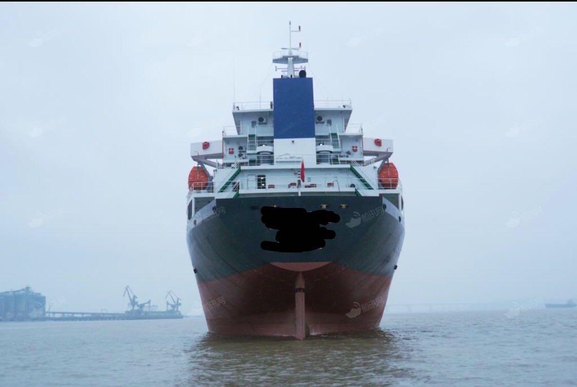 售在航7800吨多用途船